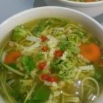 Raw Noodle Soup