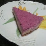 Raspberry Swirl Raw Cheesecake