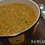 Raw Garden Vegetable Soup